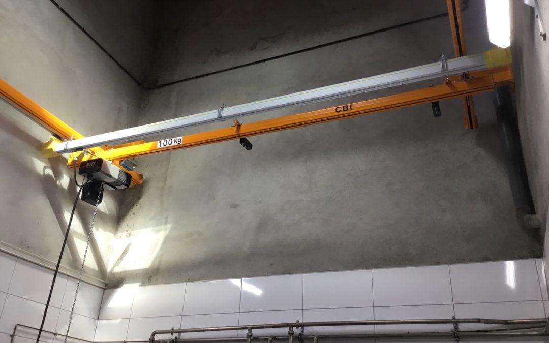 Nouvelle installation – Poutre Roulante Suspendue