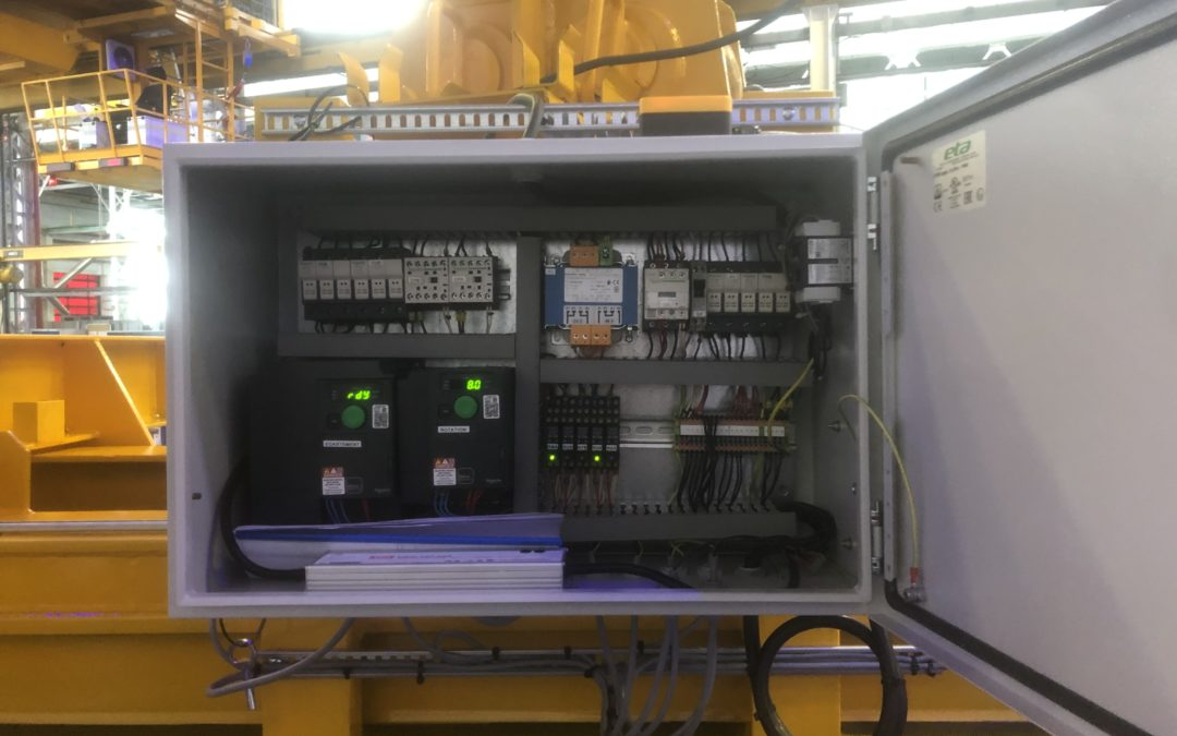 Armoire électrique complète pour un palonnier 46T
